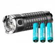 Latarka Olight SR Mini Intimidator II 3xXM-L2 + 3x Akumulator 3,7V Olight 18650 2600 mAh