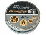 Śrut Sig Sauer Match 4,5 mm 500 szt. (AIR-AMMO-MATCH-AL-177-500)