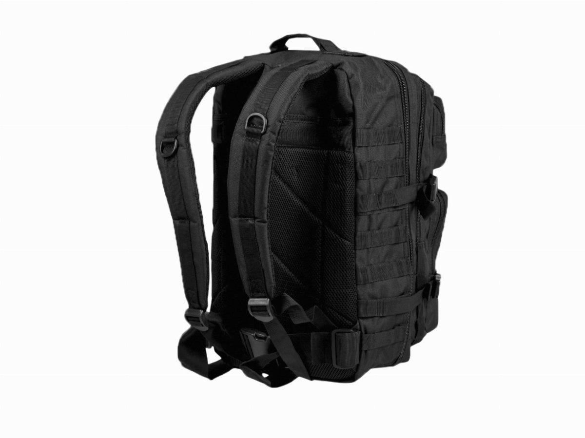 6031e0df16a78 Plecak Mil-Tec Assault duży 51 x 29 x 28 cm czarny - Plecaki - Torby ...