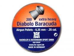 Śrut Diabolo H&N Baracuda 6,35 mm 200 szt.
