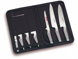 Zestaw szefa kuchni: 7 noży w etui Global