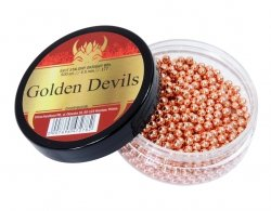 Śrut stalowy BB Golden Devils 4,5 mm 500 szt.