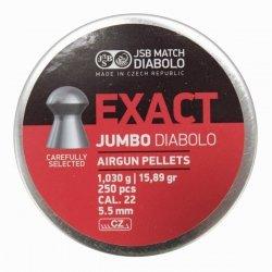 Śrut Diabolo JSB EXACT 5,50 mm 1op=250szt.