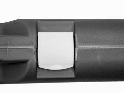 Kufer na broń czarny 125x25x11cm