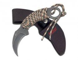Nóż Master Cutlery M-Tech Karambit Camo Cord (MT-670)