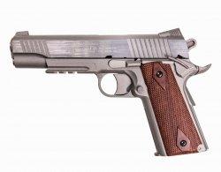 Pistolet GNB Colt M45A1 - silver (180315)
