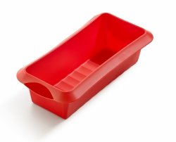 Forma prostokątna (keksówka) CLASSIC 24 cm - czerwona Lekue