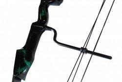 Łuk bloczkowy kompozytowy Poe Lang Cobra zielony
