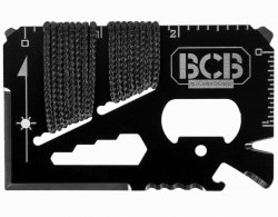 Karta survivalowa BCB Mini Work Tool Black (CM024B)