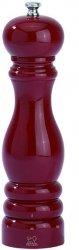 Paris Młynek do soli ciemny czerwony połysk 18 cm PG-23591