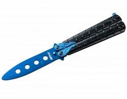 Nóż składany treningowy motylek Master Cutlery Dragon Blue (MT-872BL)