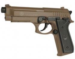 Pistolet ASG Taurus PT92 Metal Slide - tan (210117)