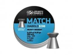 Śrut diabolo JSB Match Heavy S100 4,52 mm 500 szt.