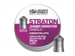 Śrut diabolo JSB Jumbo Monster Straton 5,51 mm 200 szt.