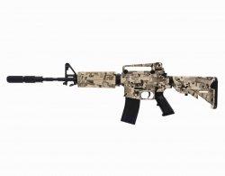 Karabinek szturmowy Swiss Arms M4 Camo - miniatura (607002)