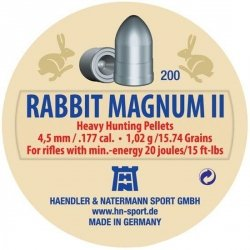 Śrut H&N Rabbit Magnum II 4.5 mm - 200 szt.
