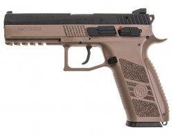Pistolet GBB CZ P-09 flat dark earth - zestaw (18182)