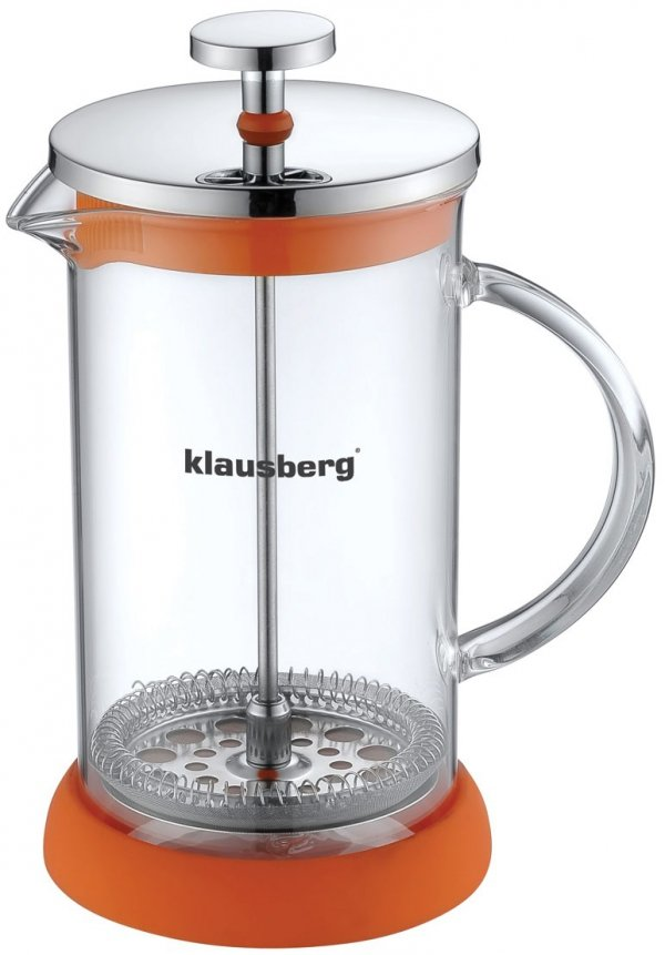 Klausberg Zaparzacz Do Kawy/Herbaty Z Dociskiem 350ml Kb-7115