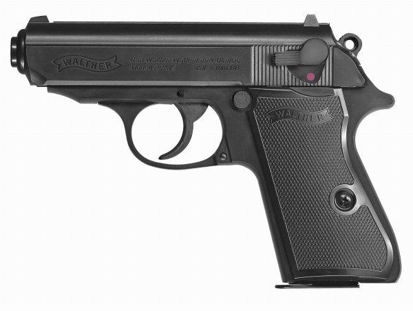 Replika pistolet ASG Walther PPK/S 6 mm sprężynowa
