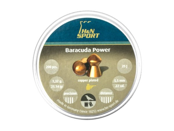 Śrut Diabolo H&N Baracuda Power 5.5 mm 200 szt.
