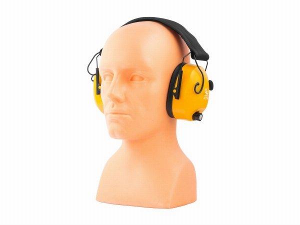 Słuchawki ochronne aktywne RealHunter ACTiVE pomarańczowe