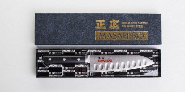 Nóż Masahiro MV-H Santoku Dimple 175mm [14993]