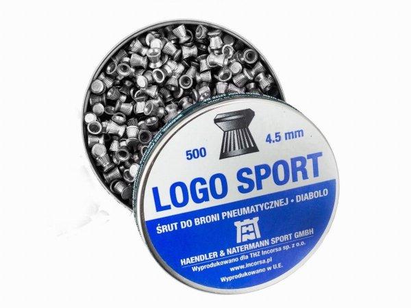 Śrut H&N Logo Sport 4.5 mm - 500 szt.