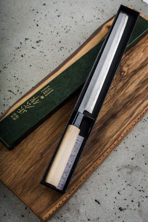 Nóż Masahiro Bessen Takohiki 210mm [16228]