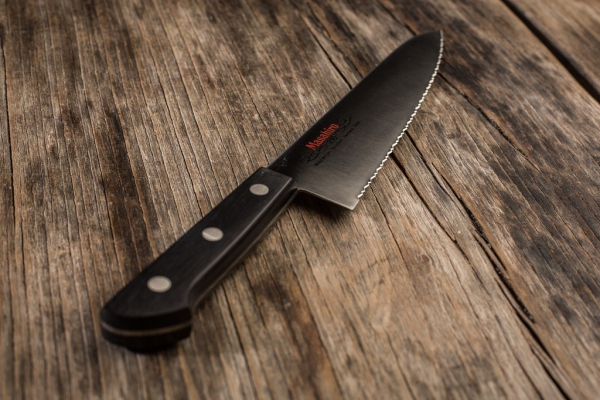 Nóż Masahiro BWH Chef Wave Edge 240mm [14042]