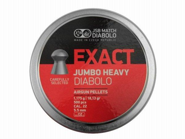 Śrut JSB Exact Jumbo Heavy 5,52 500szt.
