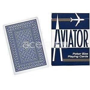 Karty do gry w pokera Aviator standard