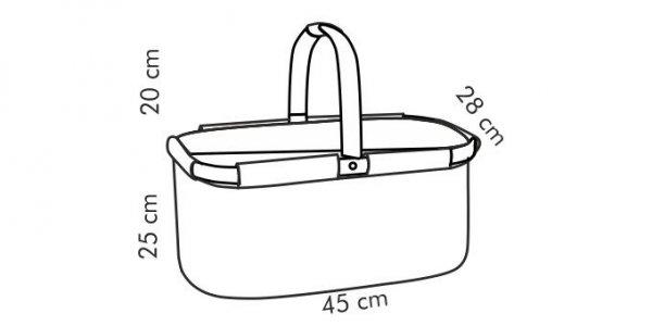 Koszyk termiczny składany COOLBAG