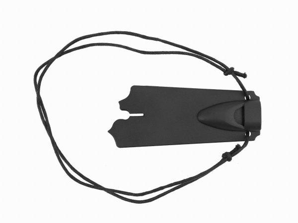 Nóż survivalowy 18 cm z gwizdkiem