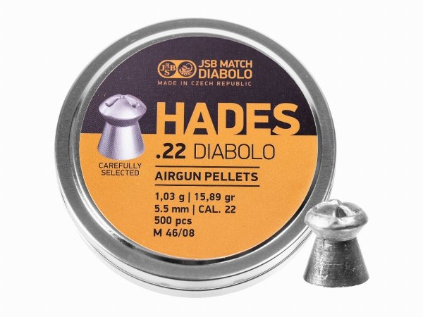 Śrut diabolo JSB Hades 5,5 mm 500 szt.