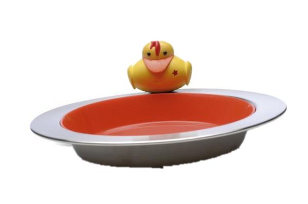 sheriff Duck. Talerz Z Wkładką Plastikową