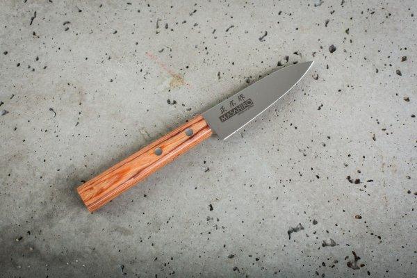 Nóż Masahiro Sankei Paring 90mm brązowy [35924]
