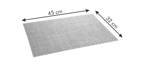 Podkładka FLAIR RUSTIC 45x32 cm, piaskowa