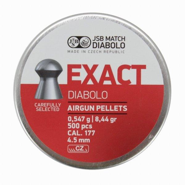Śrut Diabolo JSB EXACT 4,53  mm 1op=500szt.