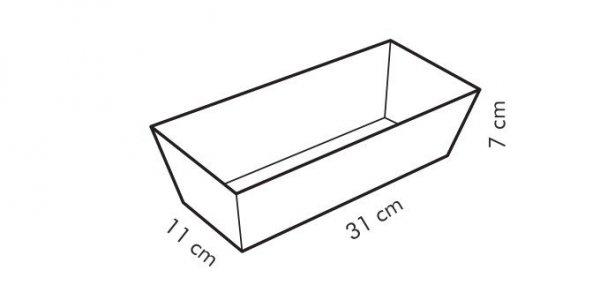 Forma podłużna DELÍCIA 31x11 cm Tescoma