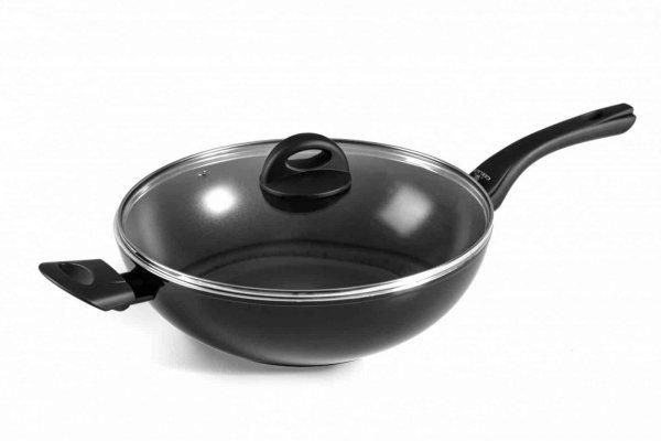 Patelnia wok + pokrywka 30 cm Gerlach