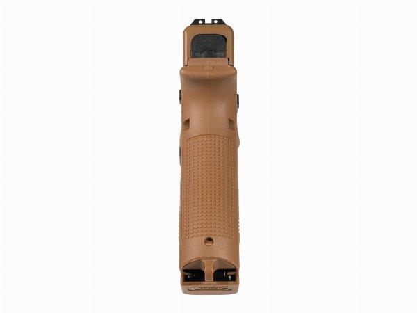 Pistolet wiatrówka Glock 19X blowback 4,5 mm coyote BB CO2