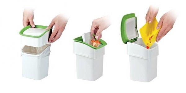 Kosz na śmieci nablatowy CLEAN KIT