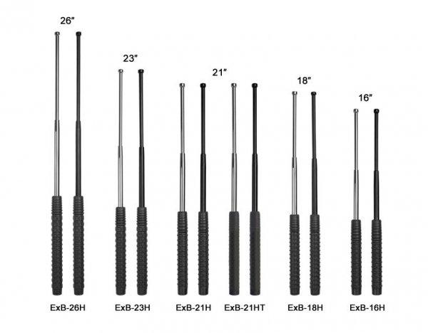 "Pałka teleskopowa ESP hartowana 26"" Black (EXB-26H BLK)"