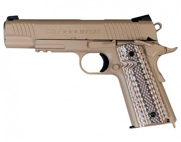 Pistolet GBB Cybergun Colt M45A1 - tan (180521)