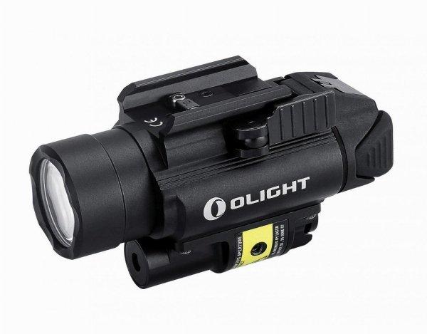Latarka z celownikiem laserowym Olight PL-2RL BALDR - 1200 lumenów