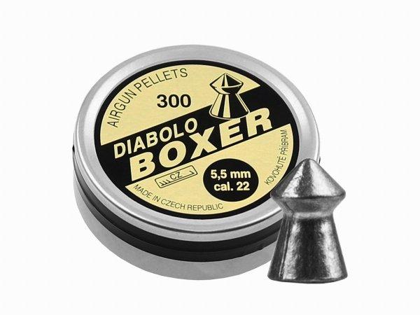 Śrut Diabolo Kovohute Boxer 5,5 mm 300 szt.