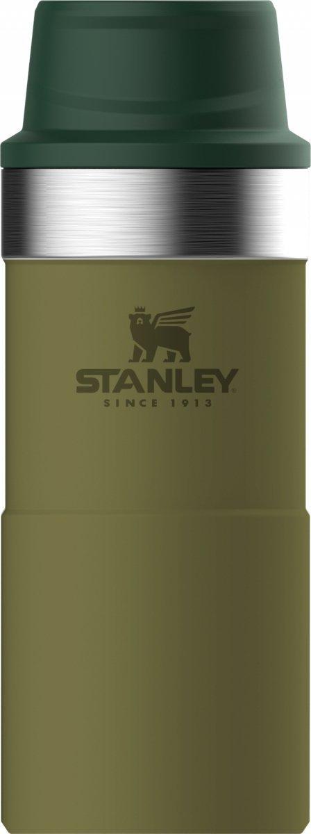 Kubek termiczny stalowy TRIGGER CLASSIC - oliwkowy 0.35L / Stanley