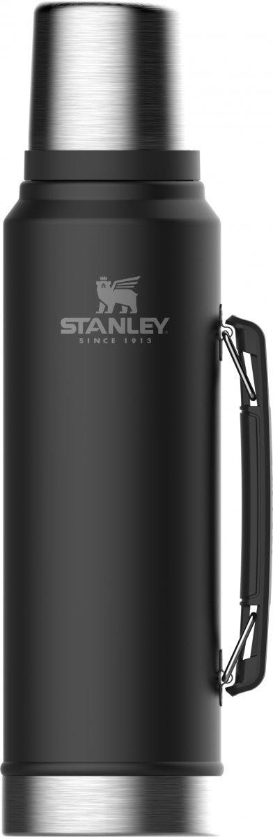 Termos stalowy LEGENDARY CLASSIC - czarny 1L / Stanley