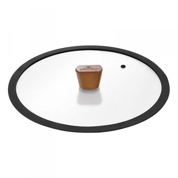 Gerlach Patelnia z powłoką ceramiczną Natur 20cm z Pokrywą!