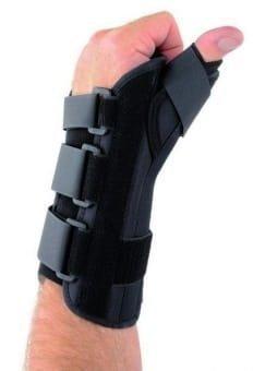 Orteza ortopedyczna na dłoń z ujęciem kciuka THUMB SPICA prawa  Roz.M
